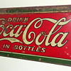 1922 Coca-Cola Embossed Tin Sign