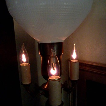 Vintage 4 Lites Floor Lamp