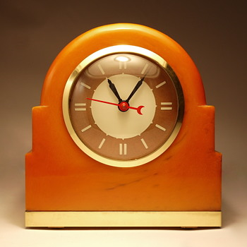 "Lackner Neon-Glo ""Dulcy"" Shelf Clock - Clocks"