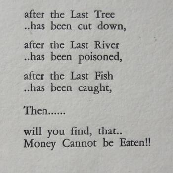 Crie Prophecy,  XIX Century