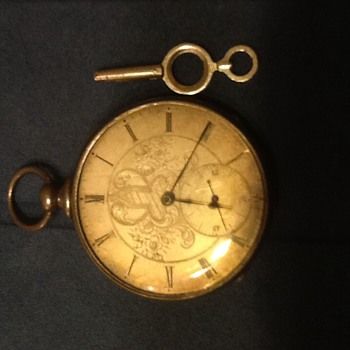 Pocket watch found in wall need help - Pocket Watches