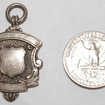 Silver Watch Fob