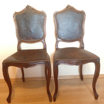 Louis the XV?  Mystery Chairs...