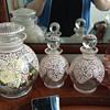 lavender salts and perfume dresser set? so pretty!