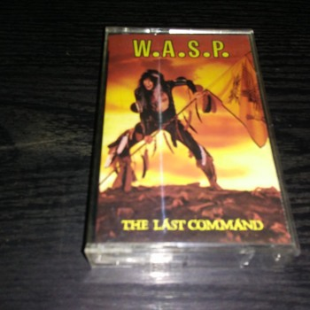 W.A.S.P.....On Cassette Tape Format - Records
