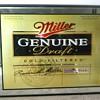 Huge Miller Genuine Draft Bar Mirror