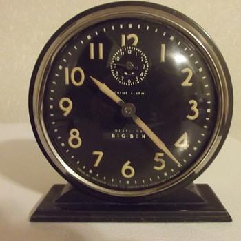 Big Ben Chime Westclox Alarm RD 1931 Western Clock Peterborough - Clocks