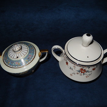 SUGAR BOWL LIDS WITH STEAM HOLES