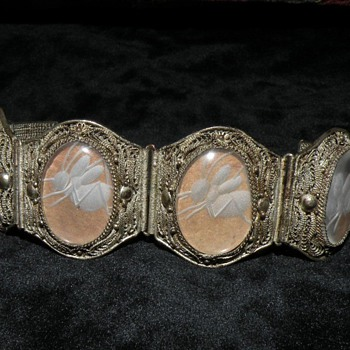 Antique Chinese Crickett Bracelet - Fine Jewelry