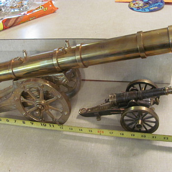 couple of cannons - Military and Wartime