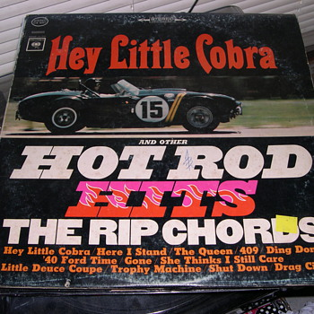 THE RIP CHORDS HEY LITTLE COBRA  COLUMBIA RECORDS CS 8951