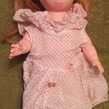 "Brookglad Creation 12 1/2"" Doll ""Poor Pitiful Pearl"" 1960's"
