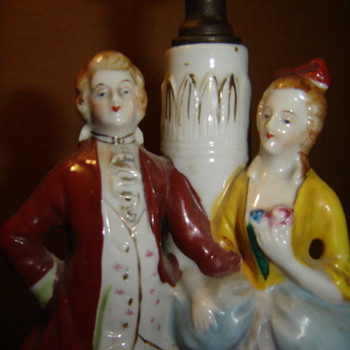 Occupied Japan Lamp - Lamps