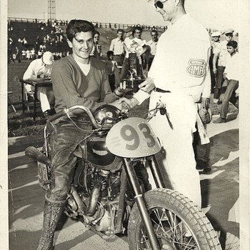 "Phil ""Phillie"" Cancilla Motorcycle racer 1948 - Motorcycles"
