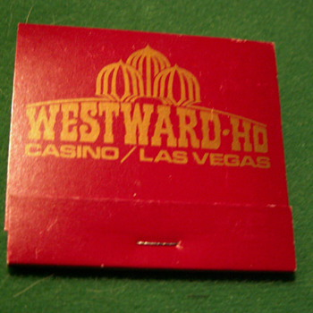Vintage Westward-Ho Casino ~ Las Vegas, NV ~ (the Strip) Las Vegas Blvd. - Tobacciana