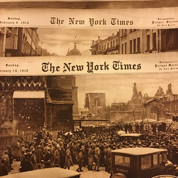 NY Times Picture Section 1915-1919