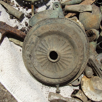 Before and After: A Few Metal Detector Finds