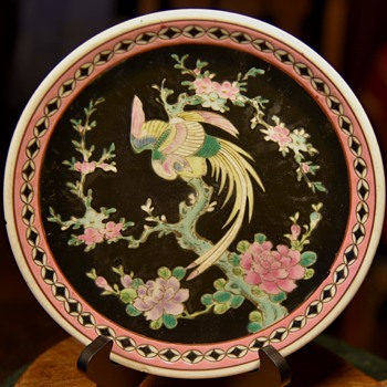 Signed 'Nippon' Plate from Japan - Asian