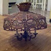 Copper or Bronze Hanging Lamp(?)