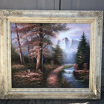 M.Scott Oil Painting - Fine Art