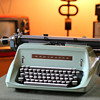 1966 Remington 24 Desktop typewriter (Canadian 100th Anniversary Model)
