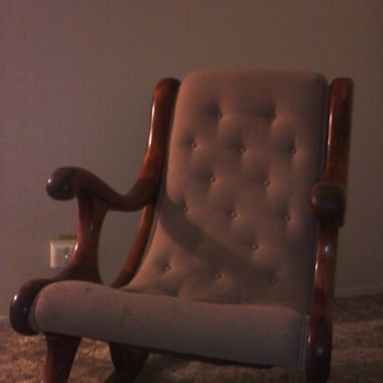 This chair has been in my family for at least four generations - Furniture
