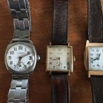 J W Benson Gents Watches. - Wristwatches