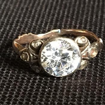 Antique Georgian ring  - Fine Jewelry
