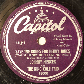 WBW - The King Cole Trio, 1947 - Records
