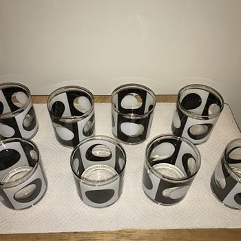 Set Of 8 Georges Briard MCM Glasses - Glassware
