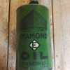 This one is a mystery!  Diamond E Oil, with T.Eaton Co. Winnipeg.  Did Eatons sell oil?