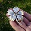 Trifari Floral Leaf Pin