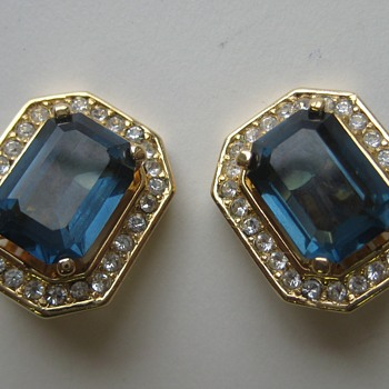 Christian Dior Earrings  - Costume Jewelry