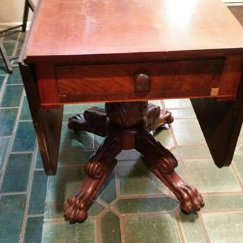 19th Century America Empire Drop Leaf Table - Furniture