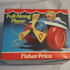 1981 FISHER-PRICE PULL-A-LONG PLANE FACTORY SEAL MINT