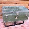 WWII Korea Era US Army Foot Locker Trunk