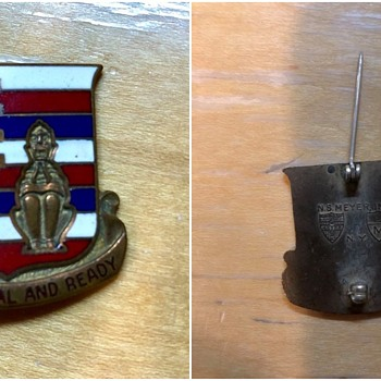 Found US Military Pin - Military and Wartime