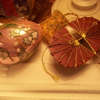 Christmas Ornaments--A few more
