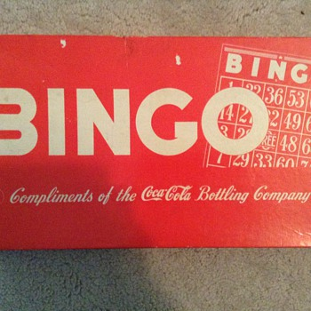 My coca cola bingo set - Coca-Cola