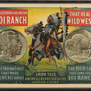 Chief Iron Tail: Star of the Wild West Show - Posters and Prints
