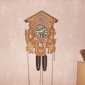 1969 regula west germany cuckoo clock - Clocks