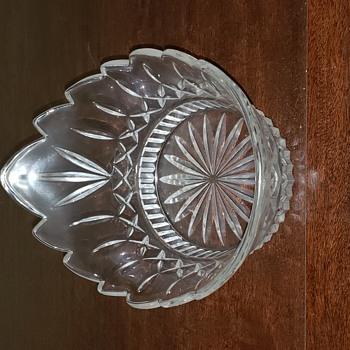 Cut Glass Curiosity - Glassware