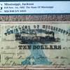 1862 Mississippi Note