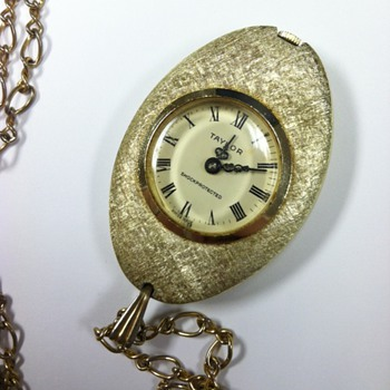 TAYLOR Watch Necklace - Swiss Made