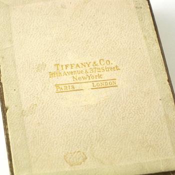tiffany & co. paper jewelry box