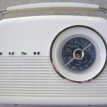 1960 Bush Model TR82 AM/FM Radio (Reproduction)