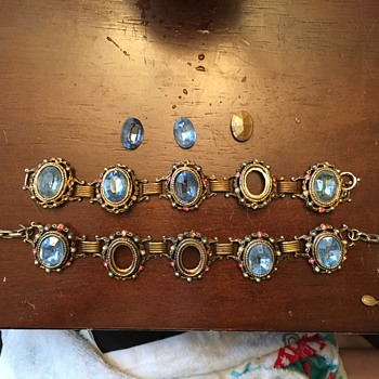 Necklace & Bracelet Vintage Set - Costume Jewelry