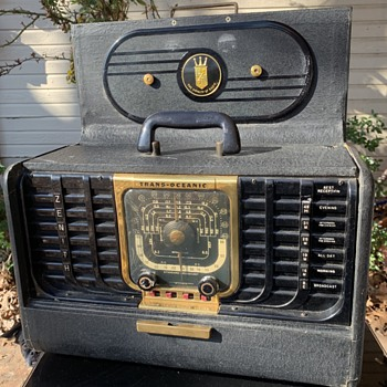 My Dad's workshop radio.  - Radios