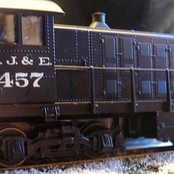 EJ&E #457 S-2 HO scale - Model Trains