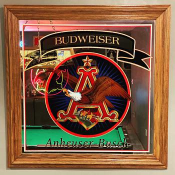 Anheuser Busch Mirror - Advertising